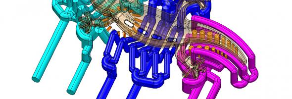 Deckerform: Konturnahe Kühlung auf vollelektrischer Spritzgießmaschine
