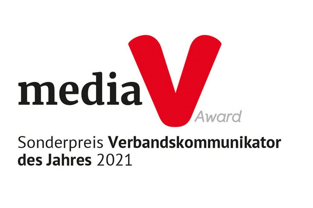 Der mediaV-Award isst der Medienpreis für Verbände und Organisationen. Die Preisverleihung fand im Musical Dome in Köln statt - und einer der Gewinner ist Ralf Dürrwächter. Mehr als 65 Verbände und Agenturen hatten sich mit ihren Projekten beworben. - Bild: Media V Award