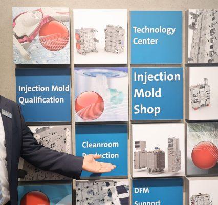 Braunform präsentiert auf der Fakuma sein erweitertes Spektrum an Dienstleistungen rund um die Spritzgießform. - Bild: Pergler Media